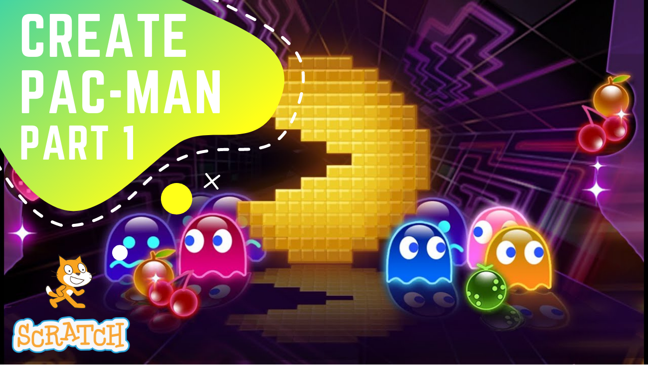 Create Pac Man game  in Scratch Part 1